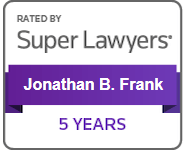 Rated by Super Lawyers Jonathon Frank 5 years